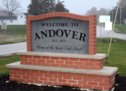 Andover Sign