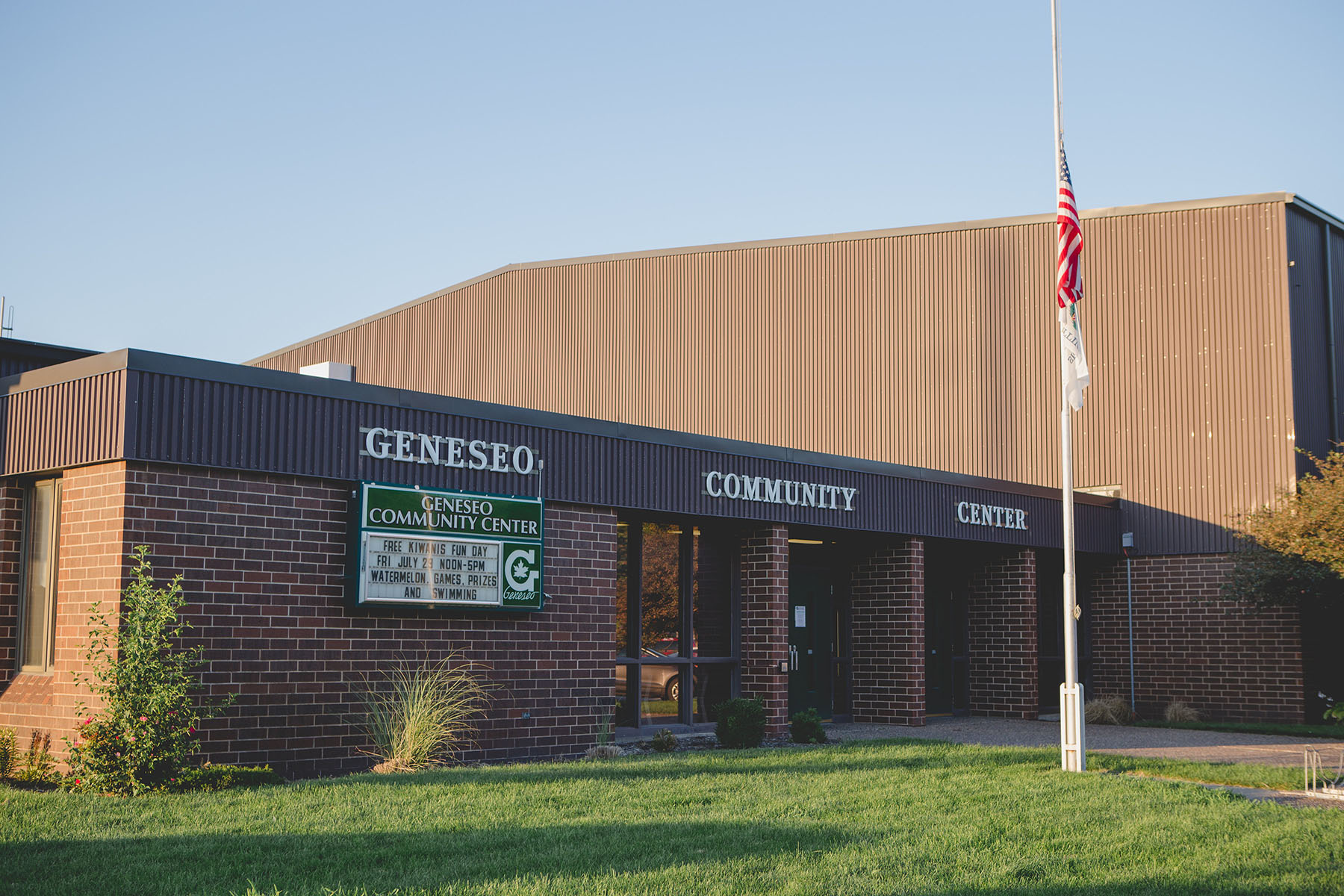 The mission of the Geneseo Park District is to enhance the quality of life in our community by providing a positive recreational experience for all.
