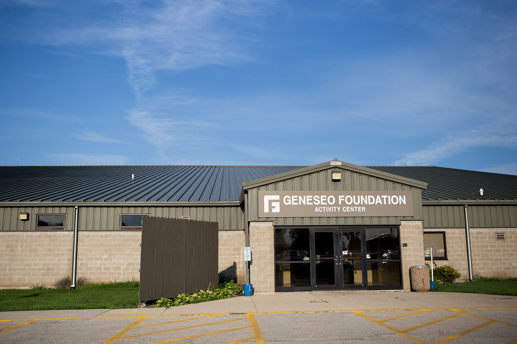 Located right next to Geneseo High School, the Activity Center serves as a fantastic facility for sports and other recreation.
