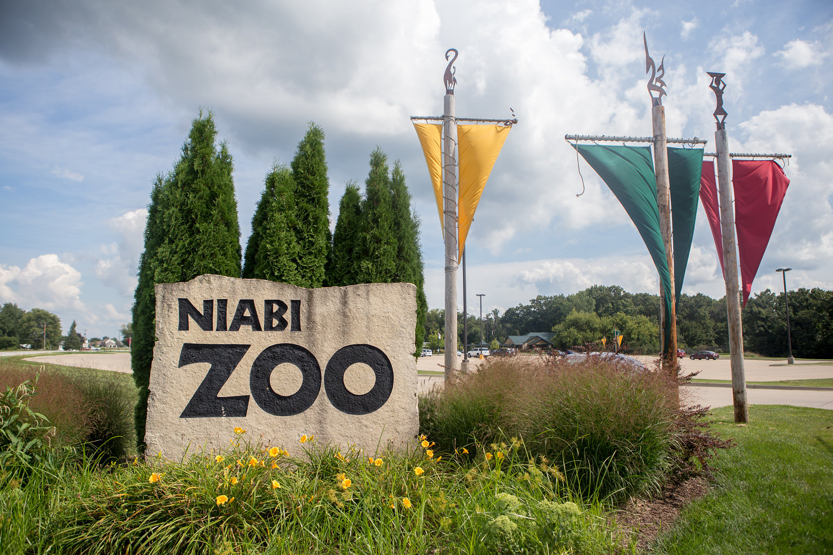 One of the closest zoos to the Geneseo area it recieves around 250,000 vistors each year, making it one of the biggest attractions in the area.