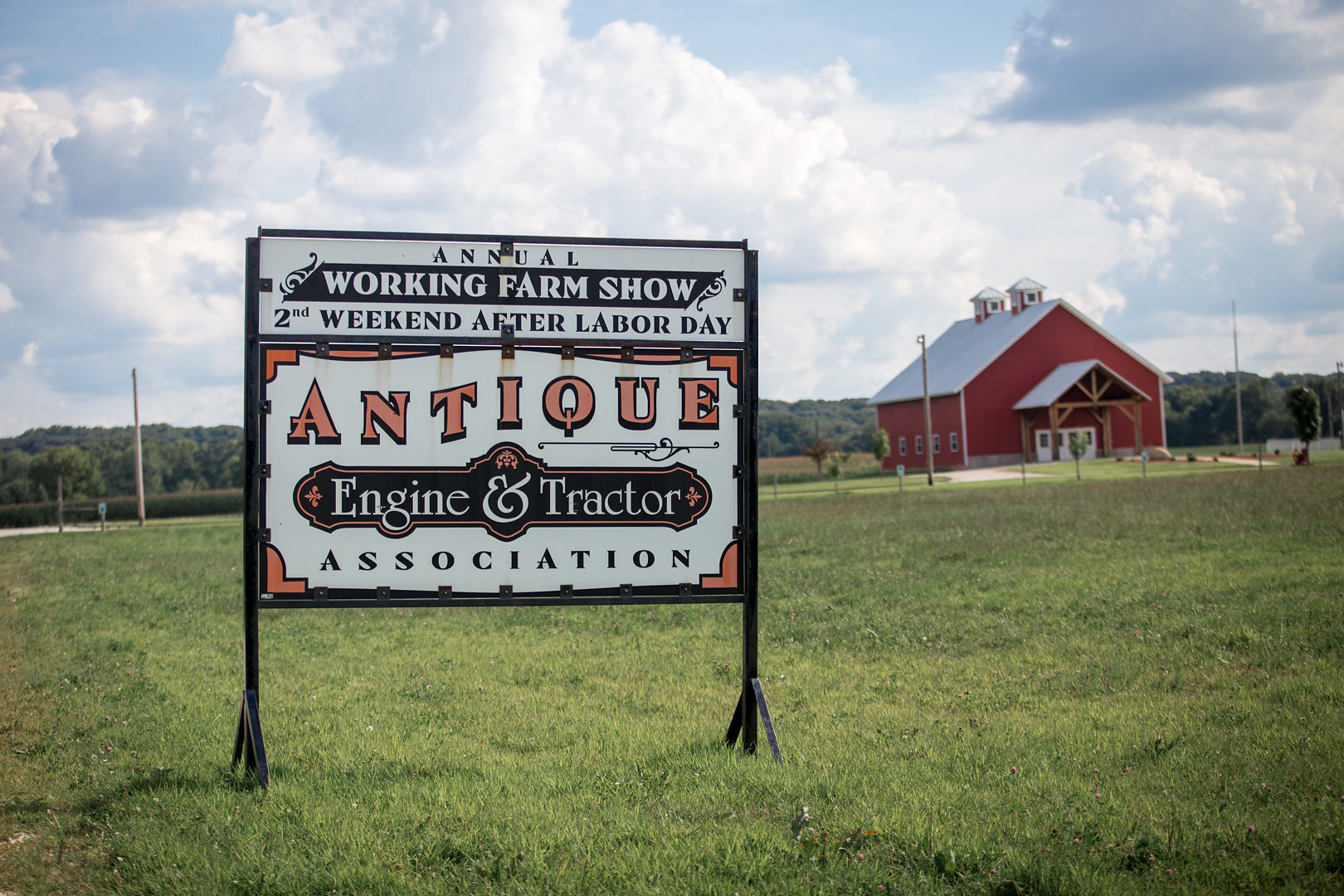 The Geneseo Antique Tractor and Engine Association was first created in 1970, and hold an annual tractor show to to promote the collection of historical farm equipment.